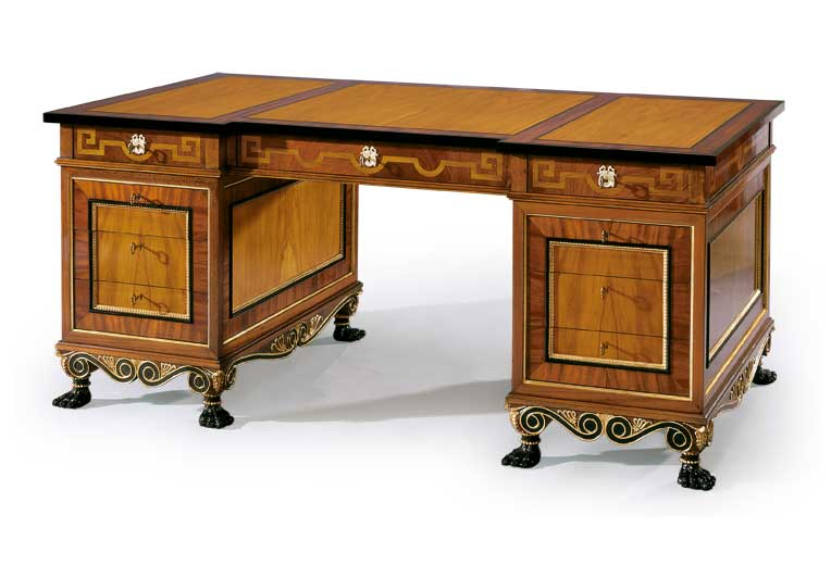 Desk royal epoca muebles de aut ntico lujo for Muebles de epoca