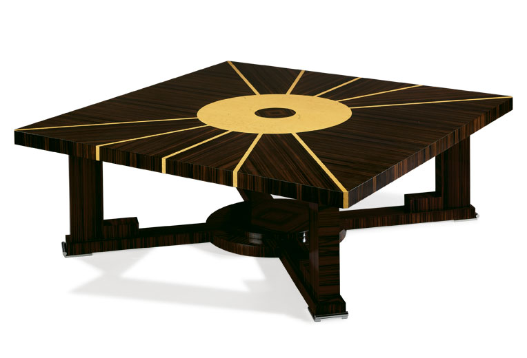 Square Center Table MERIDIEN Epoca Supreme Luxury Furniture